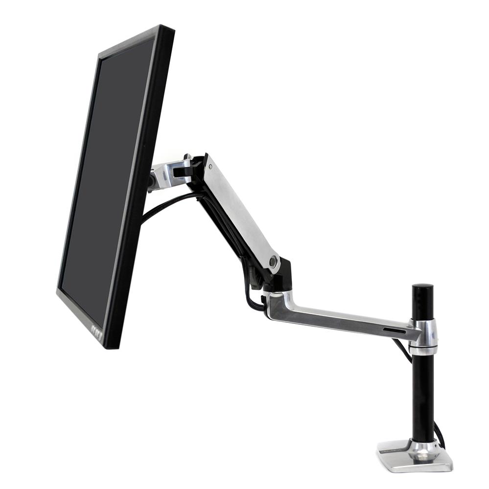 Ergotron LX Desk Mount LCD Arm, Tall Pole 45-295-026 настольный кронштейн
