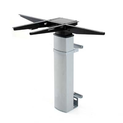 Регулируемый по высоте стол с креплением на стену ConSet 501-19 7SWS
