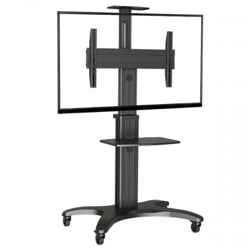 NB AVF 1500-50-1P (металлик/черный) Мобильная стойка для презентаций