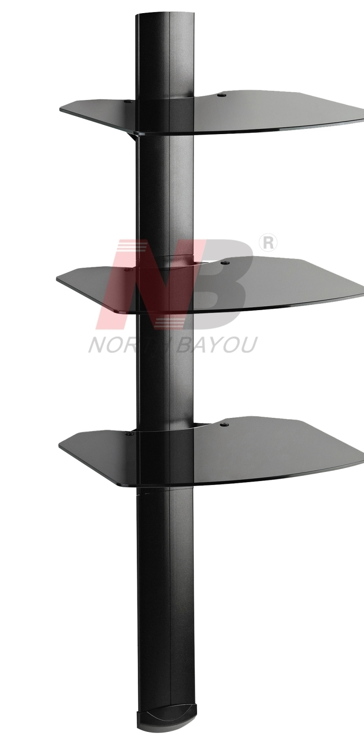 NB GS-T (три полки) Настенный кронштейн для видео и аудио аппаратуры