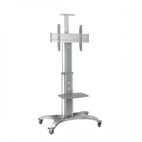 NB AVF 1500-60-1P металликМобильная стойка для презентаций