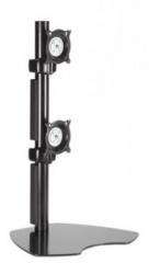 Подставка KTP230b black настольная для 2 мониторов вертикально