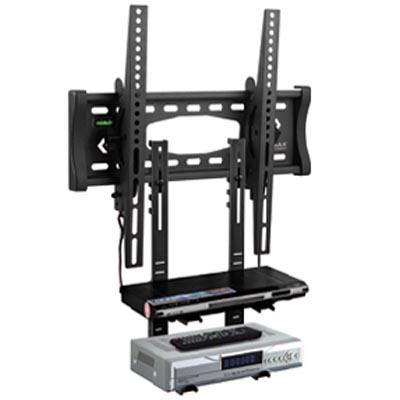 Kromax Кронштейн настенный для LCD и плазменной панели с креплением для DVD,VHS (две полки)
